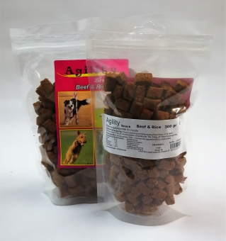 Agility Snack Beef 600 g